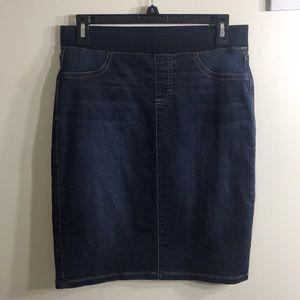 Style & Co Denim Jean Pencil Skirt Small